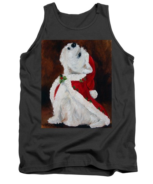 Joy To The World Tank Top by Mary Sparrow