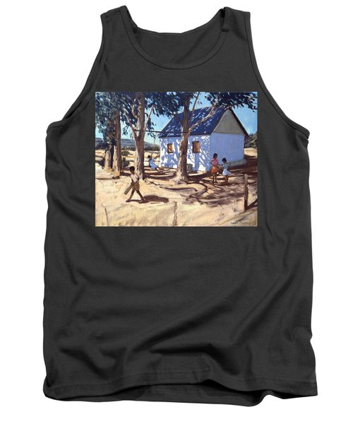 Little White House Karoo South Africa Tank Top by Andrew Macara