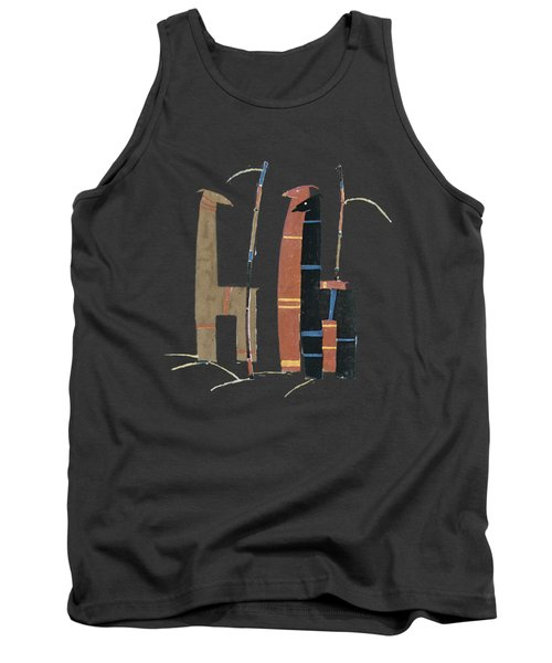 Llamas T Shirt Design Tank Top by Bellesouth Studio