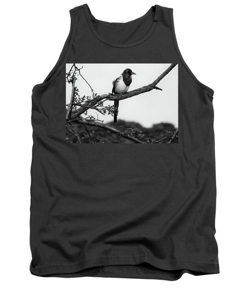 Magpie  Tank Top by Philip Openshaw
