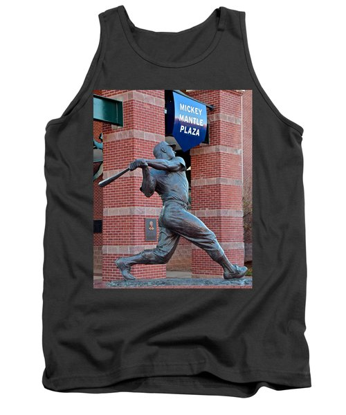 Mickey Mantle Tank Top by Frozen in Time Fine Art Photography