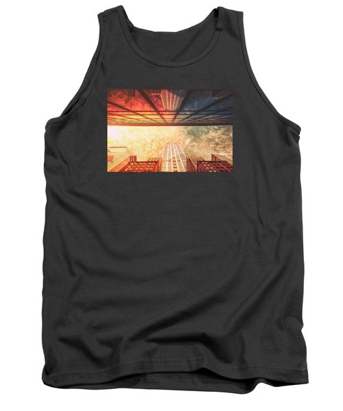 New York City - Chrysler Building Tank Top by Vivienne Gucwa
