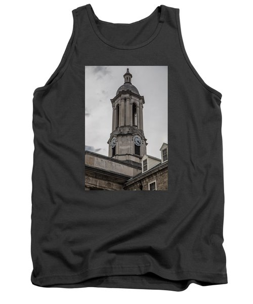 Old Main Penn State Clock  Tank Top by John McGraw