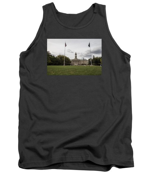 Old Main Penn State Wide Shot  Tank Top by John McGraw