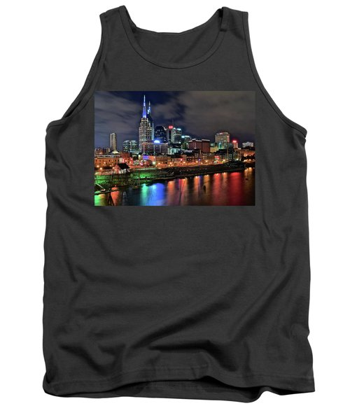 Rainbow On The River Tank Top by Frozen in Time Fine Art Photography