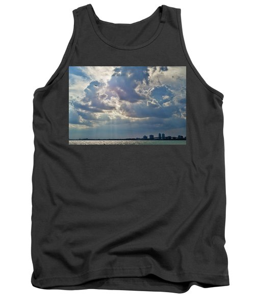 Riding In The Storm Tank Top by Camille Lopez