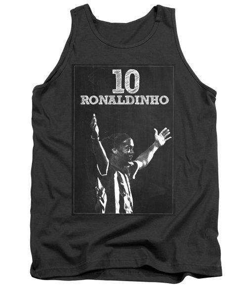 Ronaldinho Tank Top by Semih Yurdabak