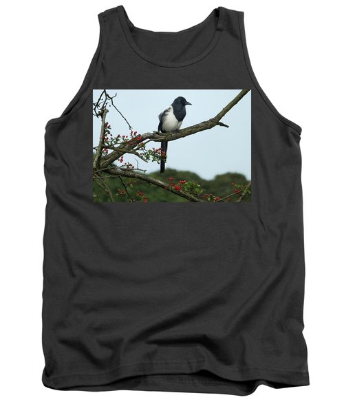 September Magpie Tank Top by Philip Openshaw
