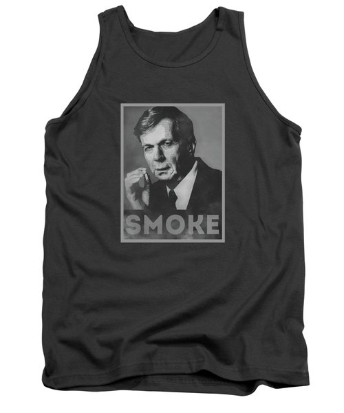 Smoke Funny Obama Hope Parody Smoking Man Tank Top by Philipp Rietz