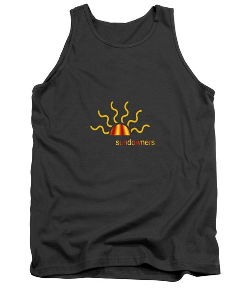 Solitary Seagull Tank Top by Valerie Anne Kelly