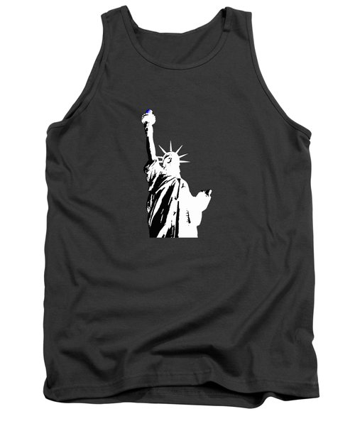 Statue Of Liberty #2 Tank Top by Frederick Holiday