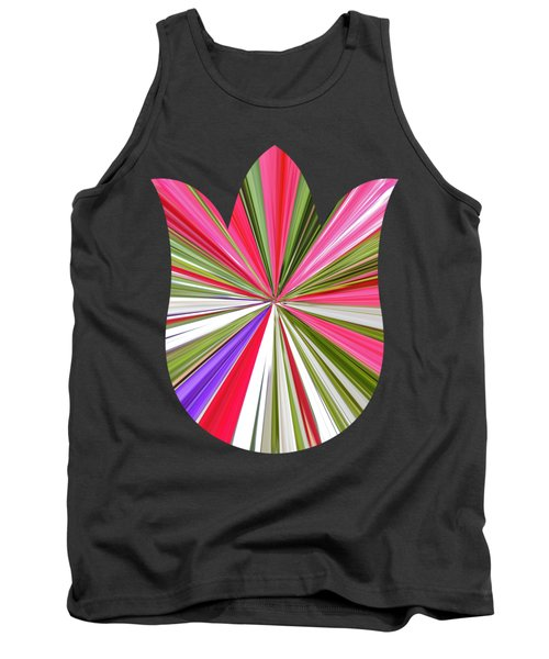 Striped Tulip Tank Top by Marian Bell