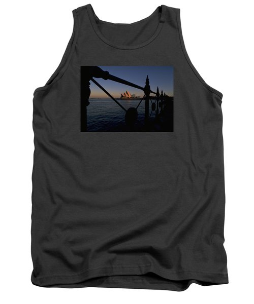 Tank Top featuring the photograph Sydney Opera House by Travel Pics