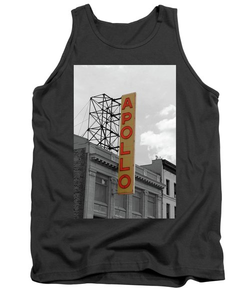 The Apollo In Harlem Tank Top by Danny Thomas