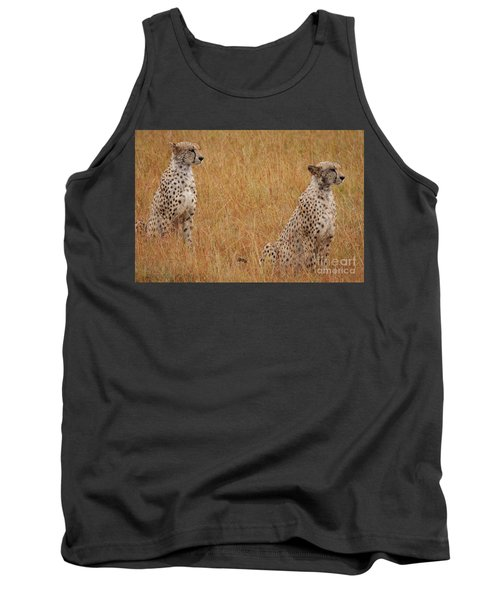 The Cheetahs Tank Top by Stephen Smith