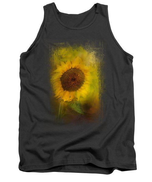 The Happiest Flower Tank Top by Jai Johnson
