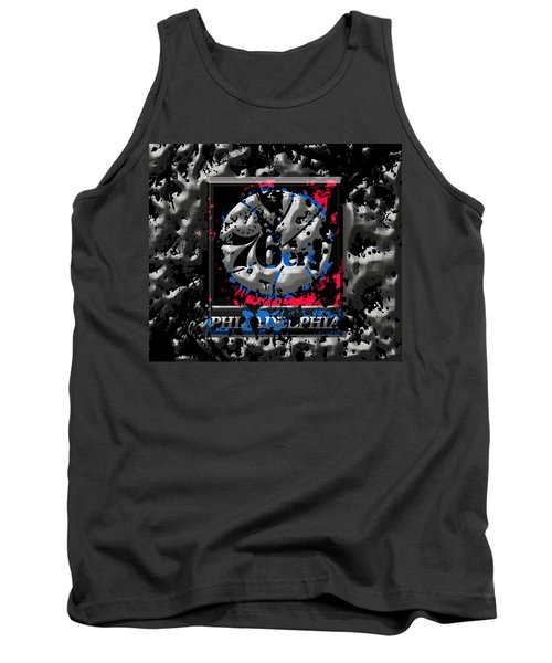 The Philadelphia 76ers Tank Top by Brian Reaves