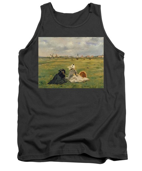 The Swallows Tank Top by Edouard Manet