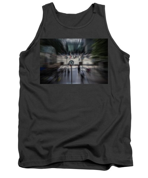 Time Traveller Tank Top by Martin Newman