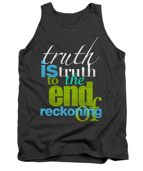 Michael Jackson Truth Is Truth Tank Top by D Francis