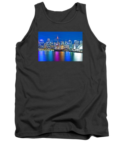 Vibrant Darling Harbour Tank Top by Az Jackson