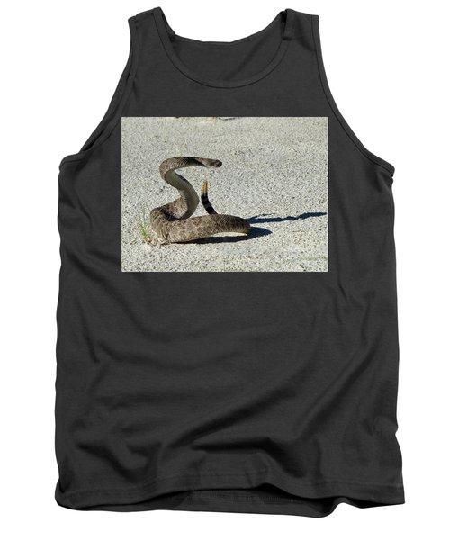Western Diamondback Rattlesnake Tank Top by Skeeze