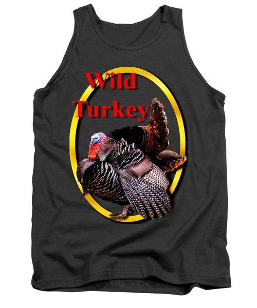 Wild Turkey Tank Top by John Furlotte