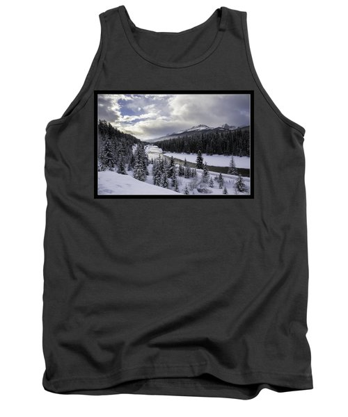 Winter In The Rockies Tank Top by J and j Imagery