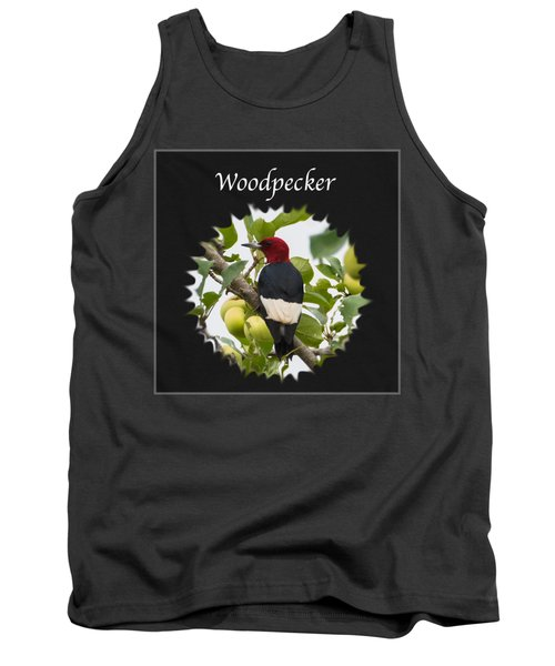 Woodpecker Tank Top by Jan M Holden