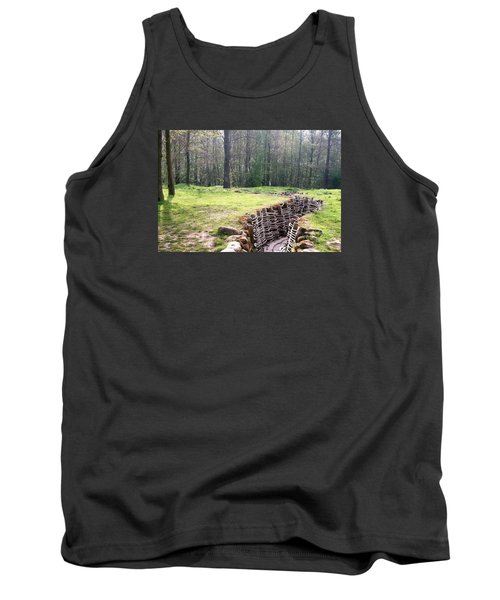 Tank Top featuring the photograph World War One Trenches by Travel Pics