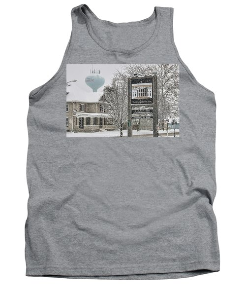 The Whitehouse Inn Sign 7034 Tank Top by Jack Schultz