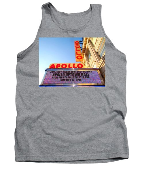 At The Apollo Tank Top by Ed Weidman