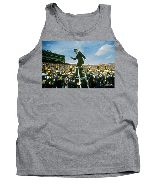 Band Director Tank Top by James L. Amos