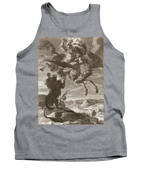 Bellerophon Fights The Chimaera, 1731 Tank Top by Bernard Picart