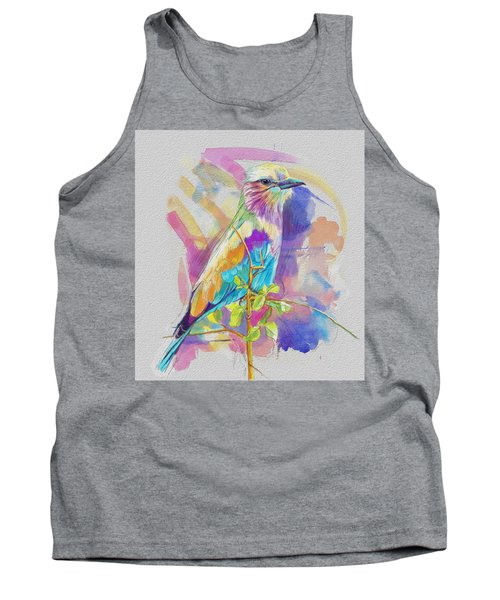 Bird On A Twig Tank Top by Catf