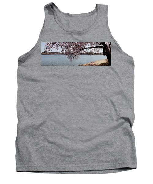 Cherry Blossom Trees With The Jefferson Tank Top by Panoramic Images