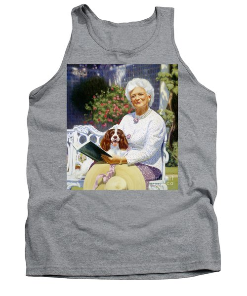 Companions In The Garden Tank Top by Candace Lovely