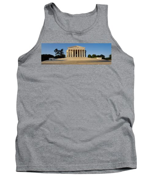 Facade Of A Memorial, Jefferson Tank Top by Panoramic Images