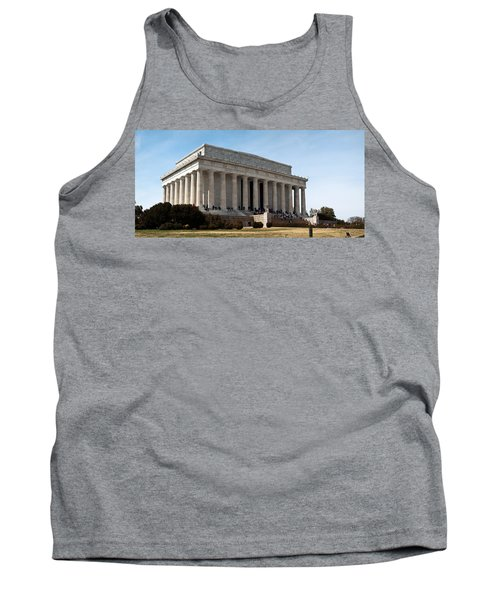Facade Of The Lincoln Memorial, The Tank Top by Panoramic Images