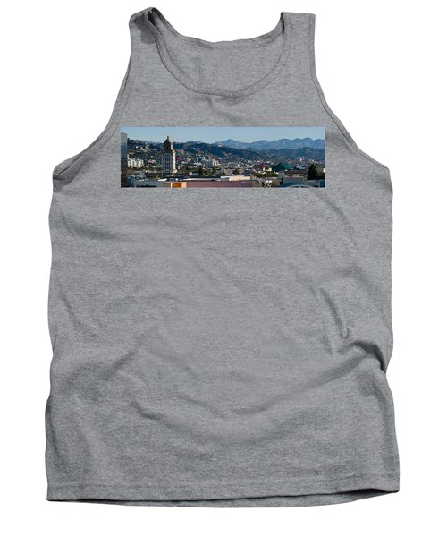 High Angle View Of A City, Beverly Tank Top by Panoramic Images