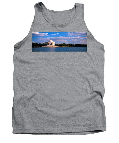 Monument On The Waterfront, Jefferson Tank Top by Panoramic Images