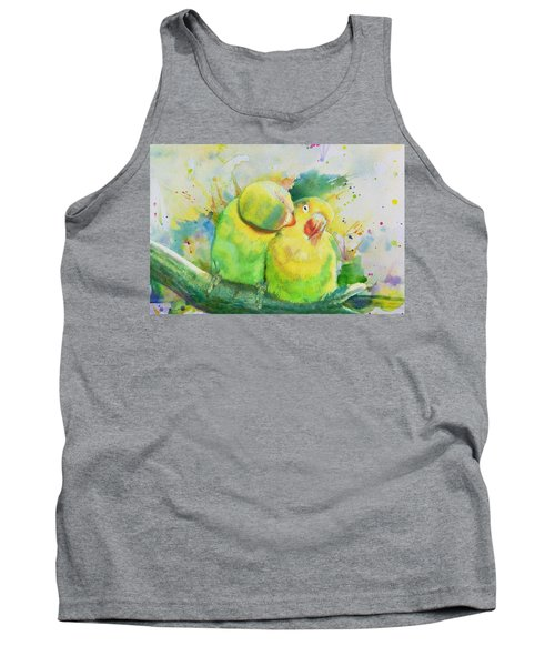 Parrots Tank Top by Catf