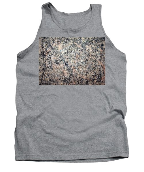 Pollock's Number 1 -- 1950 -- Lavender Mist Tank Top by Cora Wandel