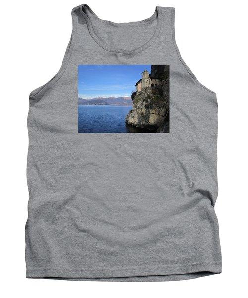 Tank Top featuring the photograph Santa Caterina - Lago Maggiore by Travel Pics