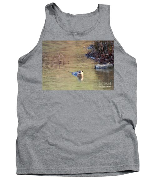 Sunrise Otter Tank Top by Mike Dawson