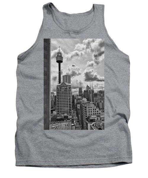Sydney Skyline Tank Top by Douglas Barnard