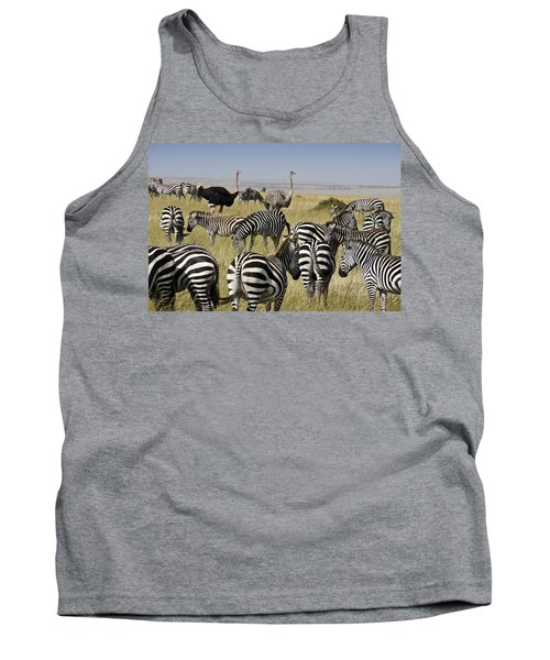 The Odd Couple Tank Top by Michele Burgess