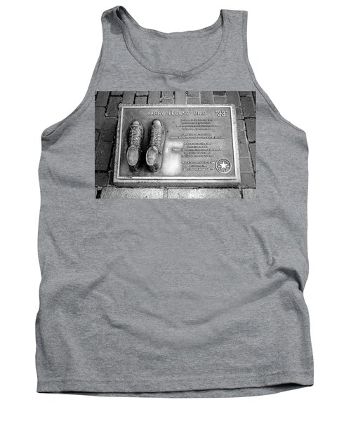 Tribute To The Bird Tank Top by Greg Fortier