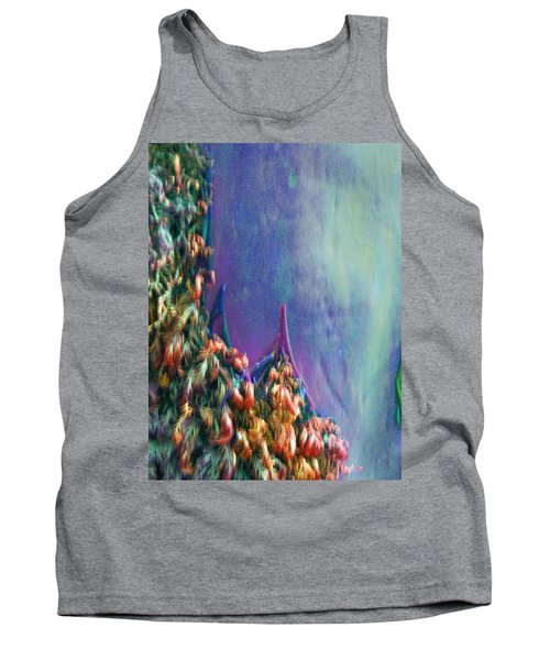 Tank Top featuring the digital art Ancesters by Richard Laeton