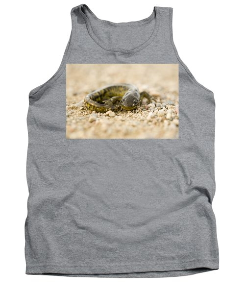 Close Up Tiger Salamander Tank Top by Mark Duffy